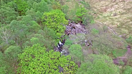 felvidéki : Aerial view of the Glen called Nevis south of Ben Nevis, Scotland