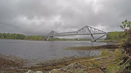 argyll : Time lapse of the Connel Bridge, Oban Stock Footage