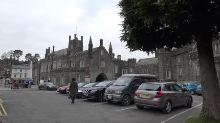 chapel : Tavistock  England - February 11 2015 : Tavistock is the main town of Dartmoors western moor