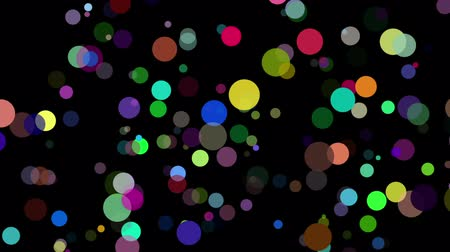 bright bubble : Colorful Bubbles Background. Looped. Alpha. HD Stock Footage