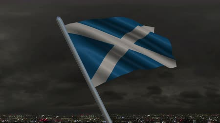 Пейсли : Scottish Flag Animation - 4K Resolution Ultra HD