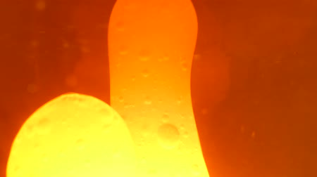 yellow ink : Beautiful lava lamp bubbles