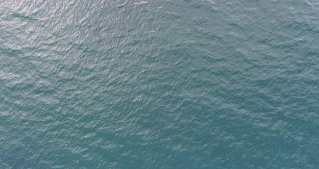 view from below : Aerial view. Aerial drone footage of ocean waves in the morning