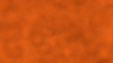 Abstract background of orange colored moving bubbles. Abstract animation background of bubbles that move, focus and blur in Orange tones.
