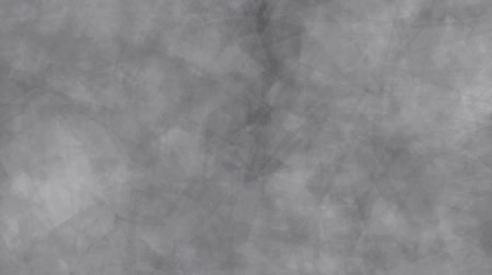 Abstract background of moving squares gray color. Abstract animation background of cubes that move, focus and blur in gray tones.