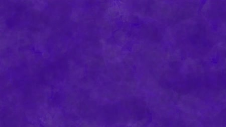 Abstract background of purple moving cubes. Abstract animation background of cubes that move, focus and blur in purple tones.