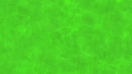 Abstract background of green moving cubes. Abstract animation background of cubes that move, focus and blur in green tones.