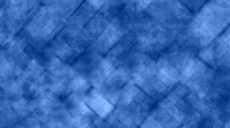 Abstract grid background in circular motion blue color. Abstract reticle background in animated blue tones with smooth circular zoom movements.