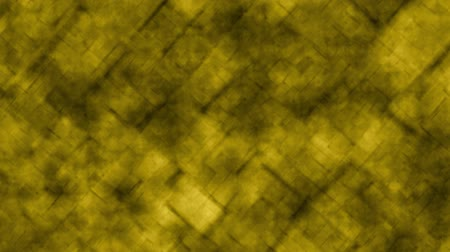 Abstract grid background in circular motion yellow color. Abstract reticle background in animated yellow tones with smooth circular zoom movements. Stok Video
