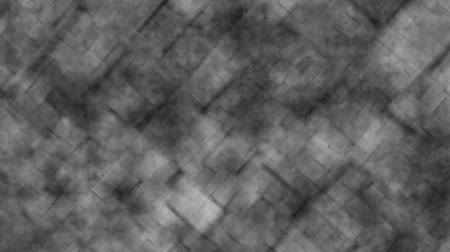 Abstract grid background in circular motion gray color. Abstract reticle background in animated gray tones with smooth circular zoom movements. Stok Video