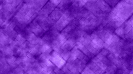 Abstract grid background in circular motion purple color. Abstract reticle background in animated purple tones with smooth circular zoom movements. Stok Video