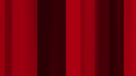 Abstract background of vertical lines in red color movement. Abstract animation background of vertical lines that move, focus and blur in red tones.