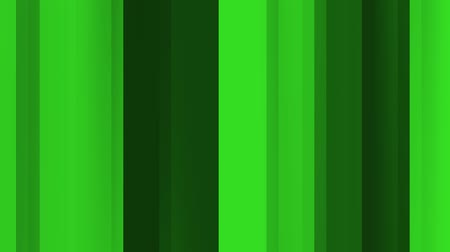 Abstract background of vertical lines in green color movement. Abstract animation background of vertical lines that move, focus and blur in green tones. Stok Video
