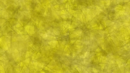Abstract background of moving triangles yellow color. Abstract animation background of triangles that move, focus and blur in yellow tones.