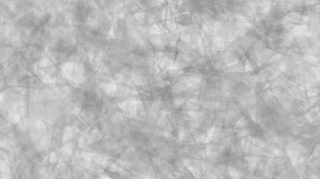 Abstract background of moving triangles white color. Abstract animation background of triangles that move, focus and blur in white tones.
