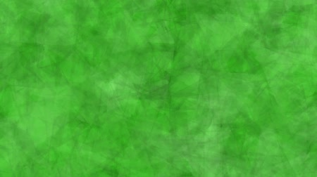 Abstract background of moving triangles green color. Abstract animation background of triangles that move, focus and blur in green tones. Stok Video