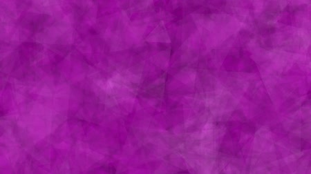 Abstract background of moving triangles pink color. Abstract background of triangles that move, focus and blur in pink tones. Stok Video