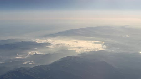 Cloud Hyperlapse from Aircraft over Bulgaria