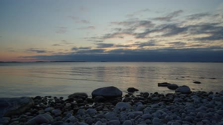 Timelapse of sunset at southern most point in Finland