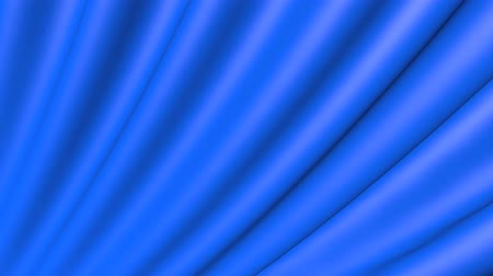 мягкость : The movement of the blue material is folded. The background fabric in motion. Стоковые видеозаписи