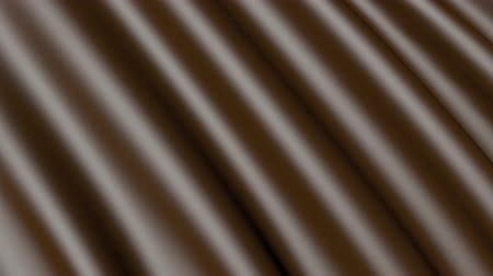 atlaszfényû : Background of chocolate. Abstract 3D motion texture.