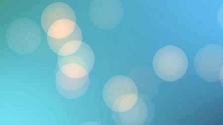 боке : Colored bokeh blue HD background