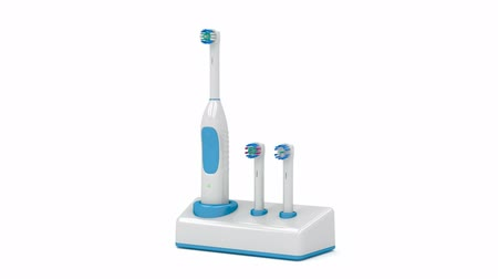 escova de dentes : Electric toothbrush on stand