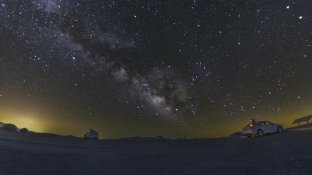Death Valley Milky Way Night Sky Astronomy Timelapse