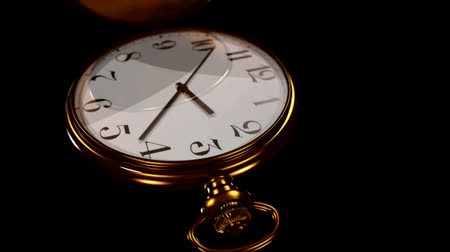 3D Animated Pocket Watch - Timelapse