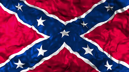 civilní : The Confederate Flag of the thirteen Confederate states Of America used during the American Civil War, which is often known as the Battle Flag Dostupné videozáznamy