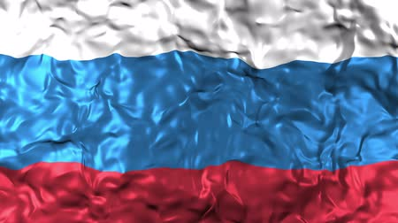 intricacy : Russian flag, fluttering in the wind