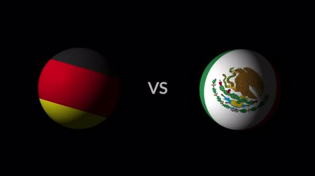 qualification round : Soccer competition, national teams Germany vs Mexico