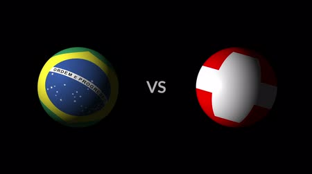 qualification round : Soccer competition, national teams Brazil vs Switzerland