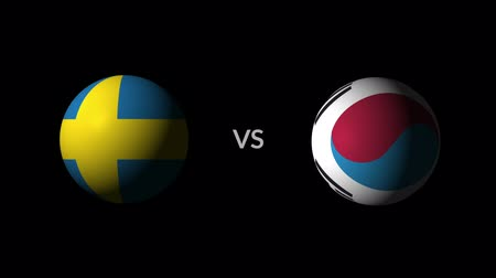 qualification round : Soccer competition, national teams Sweden vs South Korea