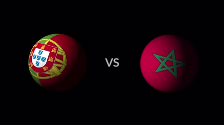 qualification round : Soccer competition, national teams Portugal vs Morocco