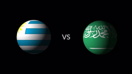 qualification round : Soccer competition, national teams Uruguay vs Saudi Arabia