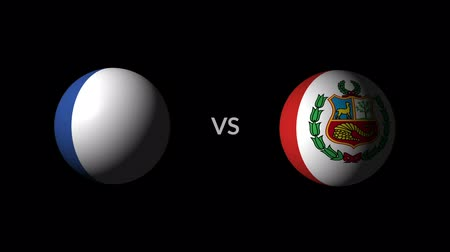 qualification round : Soccer competition, national teams France vs Peru