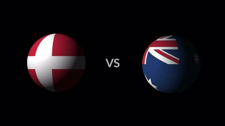 qualification round : Soccer competition, national teams Denmark vs Australia