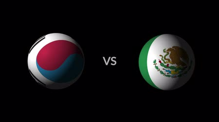 qualification round : Soccer competition, national teams Korea Republic vs Mexico
