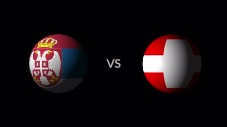 qualification round : Soccer competition, national teams Serbia vs Switzerland