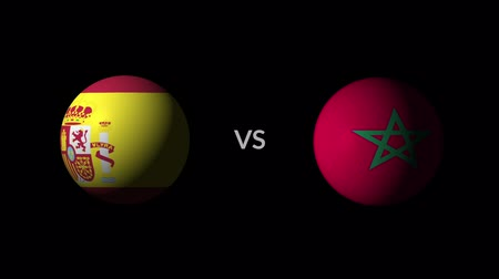 qualification round : Soccer competition, national teams Spain vs Morocco