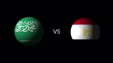 qualification round : Soccer competition, national teams Saudi Arabia vs Egypt