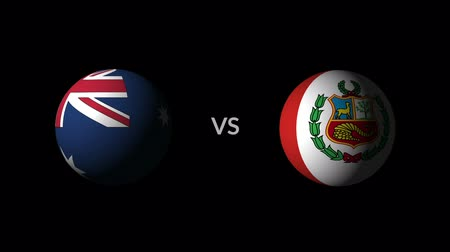 qualification round : Soccer competition, national teams Australia vs Peru