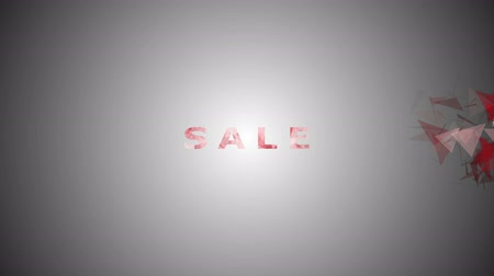 alku : Text letters Sale. Inspiration for motion posters, banners