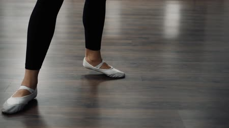 girl dancing in a dance school