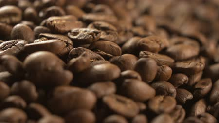 black coffee : coffee beans beautiful motion
