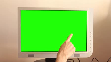 портфель : Touch screen with green chroma