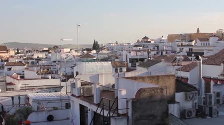 spanyolország : Timelapse of rooftops at sunset in Cordoba - Spain