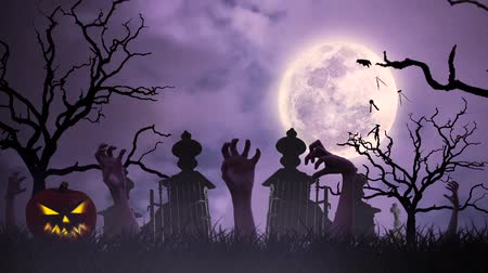 dia das bruxas : Halloween animation