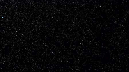 Night sky with blinking stars Stok Video